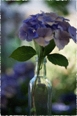 Painting - Hydrangea Bouquet by Bonnie Bruno