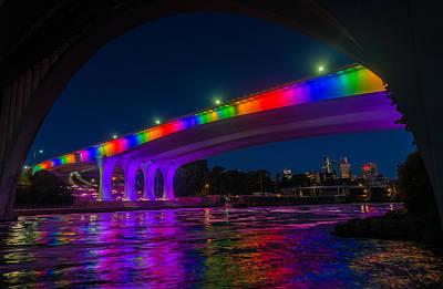 Photograph - I-35 Bridge by RC Pics