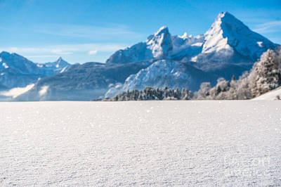 Holidays Photograph - Idyllic Landscape In The Bavarian Alps, Berchtesgaden, Germany by JR Photography