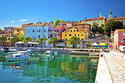 Photograph - Idyllic Mediterranean Waterfront In Volosko Village by Brch Photography
