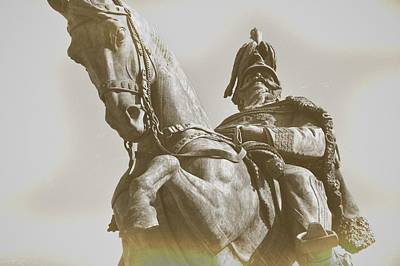 Photograph - Roman Horse And Rider by JAMART Photography