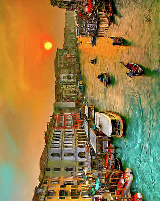 Photograph - Imbarcando. Venezia by Juan Carlos Ferro Duque