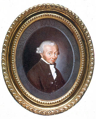 Immanuel Kant, German Philosopher Art Print by Science Source