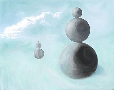 Digital Art - In Balance by Ian  MacDonald