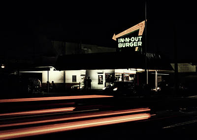 Photograph - In - N - Out Burger by L O C