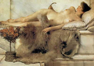 Couch Digital Art - In The Tepidarium by Sir Lawrence Alma Tadema