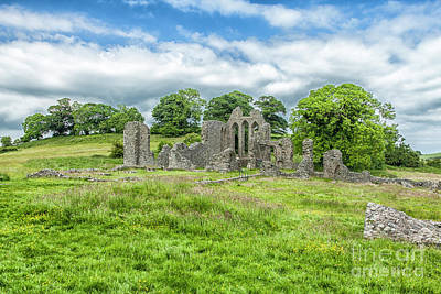 Photograph - Inch Abbey, Downpatrick by Jim Orr