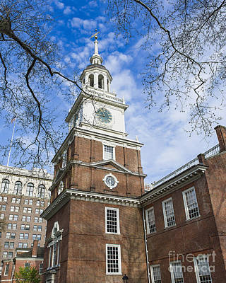 Independence Hall Art Print by John Greim