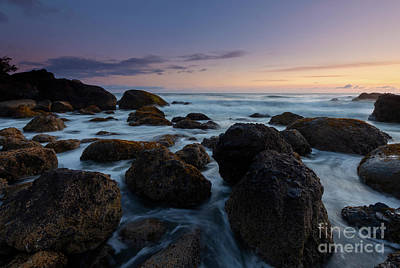 Photograph - Indian Beach Sundown by Mike Dawson