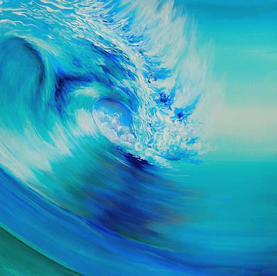 Huntington Beach Painting - Infinite Energy by Michael Baum