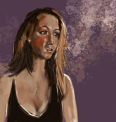 Painting - Ingrid by Jim Vance