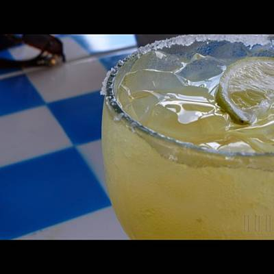 Food And Beverage Photograph - Mexican Margarita - On The Rocks With Salt by Jason Freedman