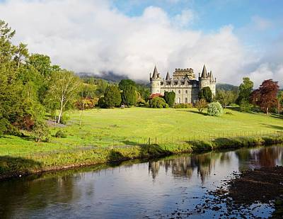 Photograph - Inveraray Castle by Stephen Taylor