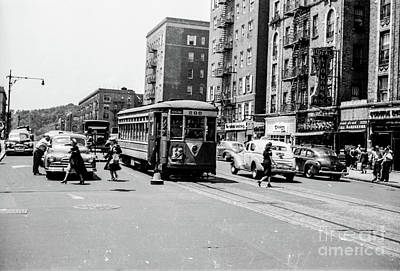 Art Print featuring the photograph Inwood Trolley  by Cole Thompson