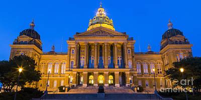 Iowa State Capitol Building Art Print
