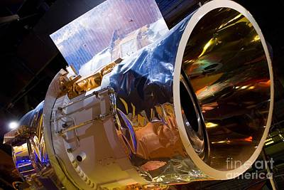 Aperture Photograph - Iras Infrared Astronomy Satellite by Mark Williamson