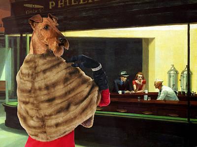 Irish Terrier Art Canvas Print Art Print by Sandra Sij
