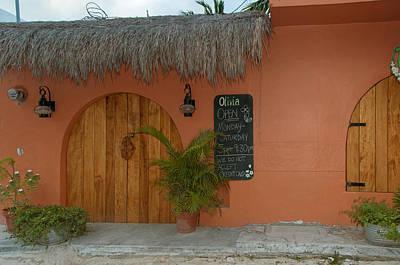 Digital Art - Isla Mujeres Street Scenes by Carol Ailles