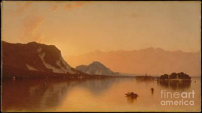 Maggiore Painting - Isola Bella In Lago Maggiore by Sanford Robinson Gifford