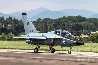 Trainer Aircraft Photograph - Israeli Air Force Alenia Aermacchi M-346 Master by Amos Dor
