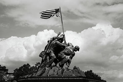 Photograph - Iwo Jima by Brandon Bourdages