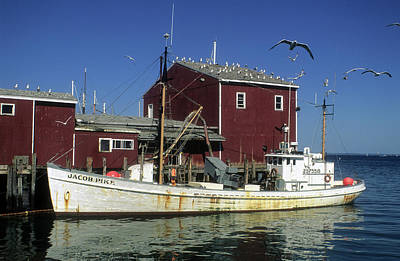 Photograph - Jacob Pike Fishing Boat by Carl Purcell