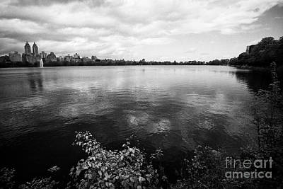 jacqueline kennedy onassis reservoir central park New York City USA Art Print