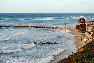 Photograph - Jaffa Beach 7 by Isam Awad