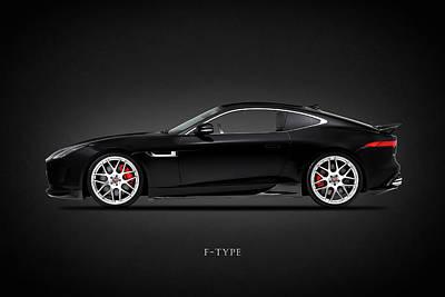 Jaguar F-type Photograph - Jaguar F Type by Mark Rogan