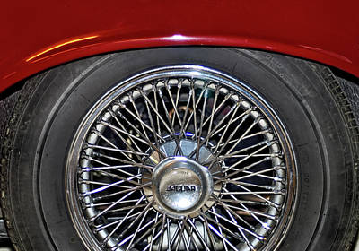 Photograph - Jaguar Wheel by Julie Niemela