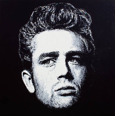 Painting - James Dean by Havi