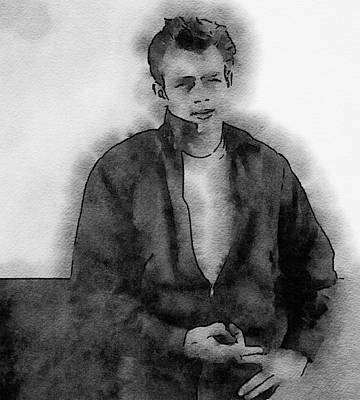 James Dean Painting - James Dean by John Springfield