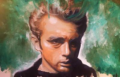 Painting - James Dean by Matt Burke