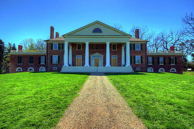 Dolley Madison Photograph - James Madison's Montpelier by Craig Fildes
