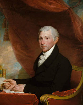 Painting - James Monroe by Gilbert Stuart