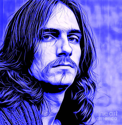 James Taylor Collection Art Print by Marvin Blaine