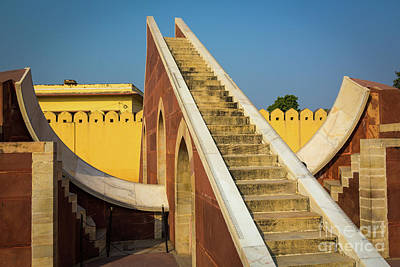 Staircase Photograph - Jantar Mantar by Inge Johnsson