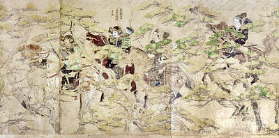 Photograph - Japan: Mongol Invasion by Granger