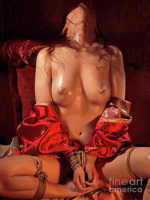 Photograph - Japanese Bondage Shibari by Oleksiy Maksymenko