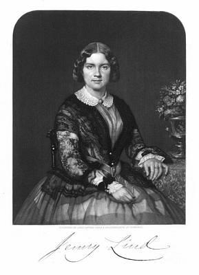 Jenny Lind (1820-1887) Art Print