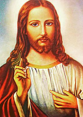 Photograph - Jesus Teaching by Munir Alawi