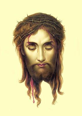 Photograph - Jesus Tears by Munir Alawi
