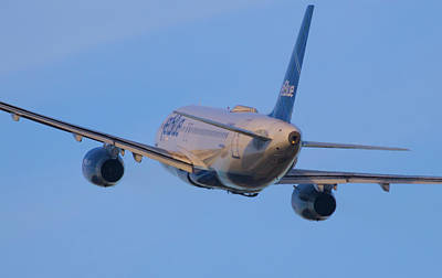Photograph - Jet Blue by Dart Humeston