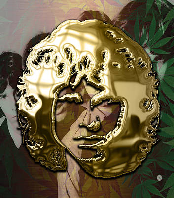 Rock N Roll Mixed Media - Jim Morrison The Doors Collection by Marvin Blaine