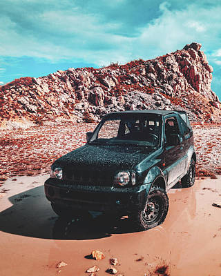 Photograph - Jimny by Chris Thodd