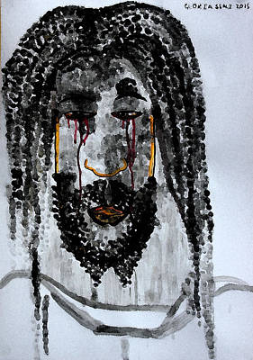 Jishu Christo Art Print by Gloria Ssali