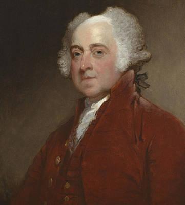 John Adams Print by Gilbert Stuart