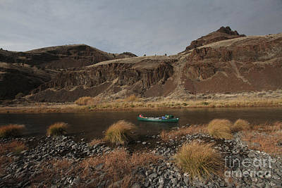 Central Oregon Photograph - John Day River by Gary Wing