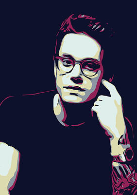 Pop Art Royalty-Free and Rights-Managed Images - John Mayer by Greatom London