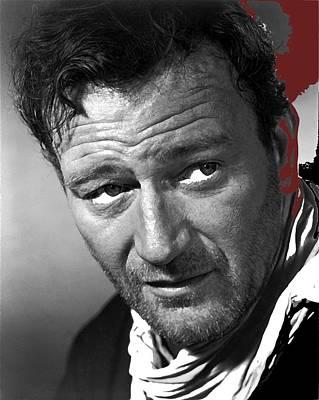 Thomas Kinkade Royalty Free Images - John Wayne 3 Godfathers Publicity Photo 1948-2009 Royalty-Free Image by David Lee Guss